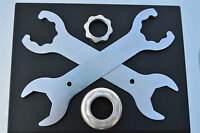 2x headset wrenches tool for shimano DURA ACE AX 600 AX perfect fit Schlüssel