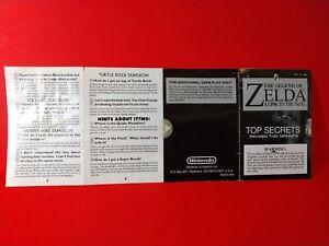 Zelda Link to the Past Top Secrets - SNES Super Nintendo