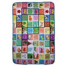 Baby Kleinkind Alphabet Spielmatte wasserabweisend für drinnen & draußen