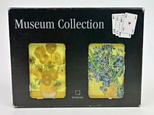 Van Gogh Museum Collection Playing Cards Double Deck Vase with Sunflower/Irises