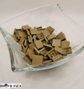 Lego® 100x Tile 2x2 (3068b) in dark tan dunkel beige Fliese 2x2 NEU