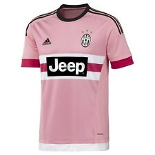 New Mens Adidas Juventus Pink Away Football Soccer Shirt Jersey Drake L S12846