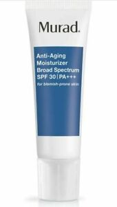 MURAD ANTI AGING MOISTURIZER BROAD SPECTRUM SPF 30 PA++ 1.7oz/50ml NO BOX!!!BLUE