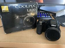 Nikon CoolPix L820 Compact 16Mp Full 1080p 30x Zoom Digital Point & Shoot Camera