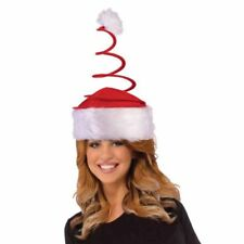 Spingy Santa Hat Funny Spirl Christmas Adult Holiday Cap