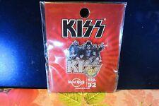 Kiss Hard Rock Cafe Pin San Francisco Kiss Sig. Series Limited Edition Pin SF