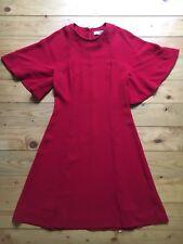 Sandro Paris Kleid Cocktailkleid Rot Gr.1/34 Neu o.Etikett