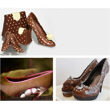 DIY Silicone High-heeled shoes Cake Mould Fondant Craft Mold Decorating Tools