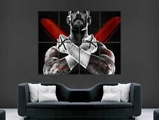 Cm PUNK WWE WRESTLING USA Géant Grand Mur Art Poster Image Big