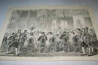 #00-0040 8/5/1871 ANTIQUE PRINT (GERMANY) - PEACE REJOICINGS - BERLIN - IMPERIAL
