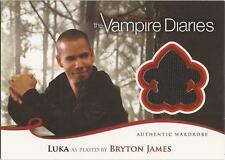 "Vampire Diaries Season 2 - M18 Bryton James ""Luka"" Wardrobe Card"