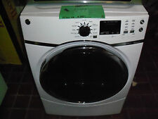 New White Ge Front Load Steam Dryer Gfds170Ehww Nob Local Pickup Only