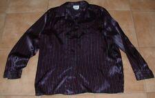 LESLIE FAY Sportswear Striped Ladies Blouse    Size 18