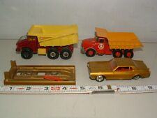 * Matcbox King-Size Dump Trucks and More Toys ( Lot Of 4 ) # 85