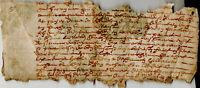 1665 acte notarié ancien Charente-Maritime Jonzac ARCHAMBAUD BARDON BERRUCHON