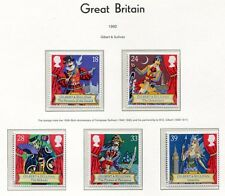 s3014) UK GREAT BRITAIN 1992 MNH** Sir Arthur Sullivan 5v