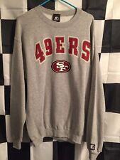 Vintage 90's San Francisco 49ers Starter Sweatshirt Crewneck Mens Sz Large NFL