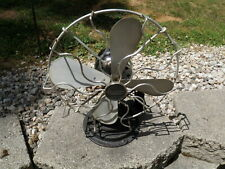 "ANTIQUE GILBERT FAN 1930's 12"" OSCILLATING 100% ORIGINAL AND WORKING"