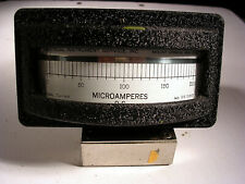 Vintage Electrical Inst Service Inc Dc Microamp Meter Model Jw 4a Working