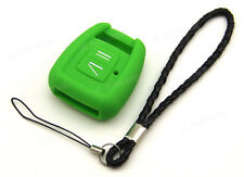 Green Silicone Case Cover For Opel Combo Astra Vectra Zafira Remote Key OPZB2FGR