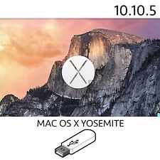 yosemite 10.10.5 mac osx usb installer bootable macbook pro air imac repair fix