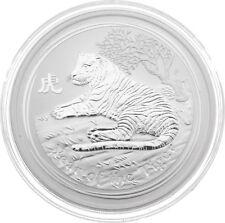 """2010 Australia 5 oz Silver """"Year of the Tiger"""" BU Lunar Series II"""