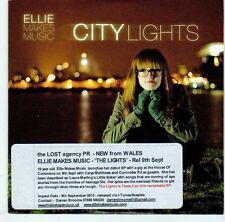 (EL858) Ellie Makes Music, City Lights - 2013 DJ CD