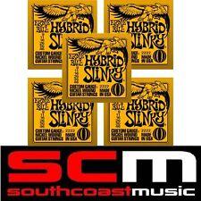 5 x Sets ERNIE BALL HYBRID SLINKY ELECTRIC GUITAR STRINGS 9-46 GAUGE MADE IN USA