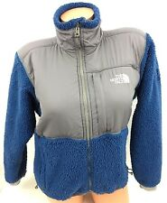 THE NORTH FACE SUMMIT SERIES BLUE WARM WINTER FURRY FLEECE JACKET COAT WOMENS S
