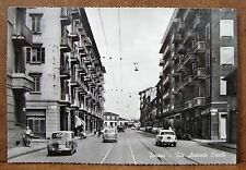 Torino - Via Antonio Cecchi [grande, b/n, non viaggiata]