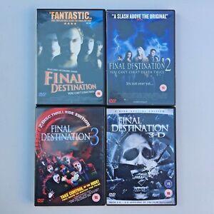 Final Destination DVD Bundle (1,2,3 & 3D) - Including 2 x 3D Glasses - Region 2