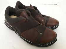 Mens Fly London Shoes Casual SLIP On Hipster Couture Steampunk Leather 9.5 Brown
