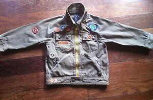 Boys  H&M Khaki Combat Jacket 4 Years