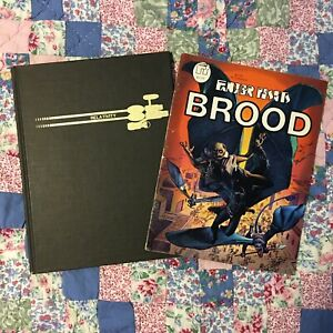 SIGNED by Richard CORBEN & Jan Strnad #104/500 Brood HC + Fantagor #5 FULL STORY