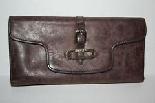 Jimmy Choo Made in Italy Brown Leather Wallet