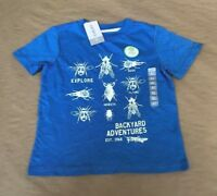 NWT CARTERS LITTLE BOY'S GRAPHIC TEE - SIZE 4T