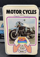 VINTAGE DUBREQ TOP TRUMPS CARD GAME- MOTOR CYCLES (SERIES 1)