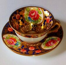 Very Sweet and Antique Crown Staffordshire Miniature Cup & Saucer