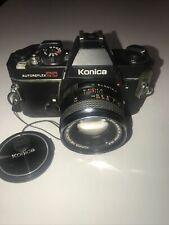 Konica Autoreflex Tc With Hexanon Ar 50mm f1.7 Lens and Original Lens Cap