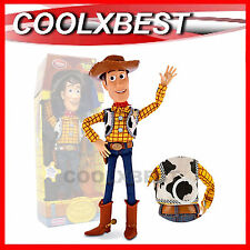 Disney Toy Story Woody Sheriff Pull String Talking Doll Figure 19 Phrases 39cm