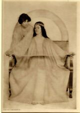 Seated Woman in Chair From Rubaiyat by Adelaide Hanscom - Tissue Gravure