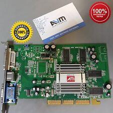 Scheda video VGA AGP ATI Radeon 9250 9200 varie versioni retrocomputing GARANZIA