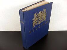 BELGIUM & COLONIES Stamps 19th/20th Century & Back of Book in Minkus Album  G788