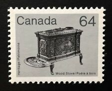 Canada #932ii DF APP MNH, Wood Stove Artifact Definitive Stamp 1983