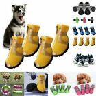 4pcs Small Large Pet Dog Anti-slip Shoes Mesh Boots Summer Breathable Booties