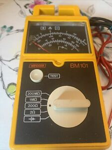 AVO MEGGER BM101 500V CONTINUITY AND INSULATION TESTER