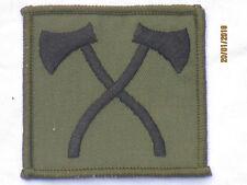 N º 2 Vestido abz. Assault Pioneer, cruzado EJES, negro / oliva, 62x62mm