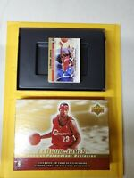 LeBron James 2003-04 Phenomenal Beginning Upper Deck set 1-20 plus #6 gold card