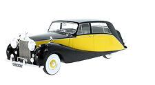 Modell 1:18 Rolls Royce Silver Wraith Empress by Hooper , schwarz/gelb, RHD 1956