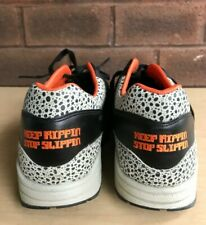 "NIKE Air Max 1 SUPREME ""KEEP RIPPIN STOP SLIPPIN"" 332326 801 - Size 11 - 2008"
